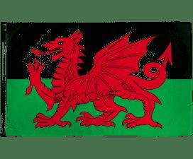 Welsh Flag 5' X 3'