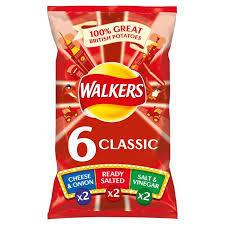 Walkers Classic 6pk 5000328376165
