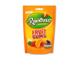 Rowntrees Fruit Gums 150g 7613035418103
