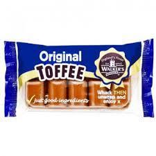 Walkers Orig Toffee 100g 5010169830245