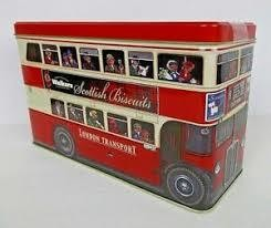 Walkers London Bus Tin Biscuits 450g
