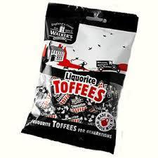 Walker's Liquorice Toffees 150g 5010169035473