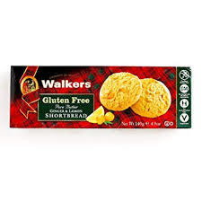 Walkers Gluten Free Ginger And Lemon Biscuits