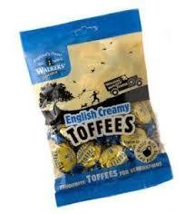 Walkers English Creamy Toffees 150g