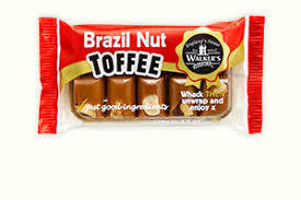Walkers Brazil Nut Toffee 100g