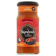 Sharwood's Hot Madras Cooking Sauce 400g