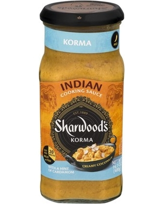 Sharwood's Korma Cooking Sauce 400g 756781000899