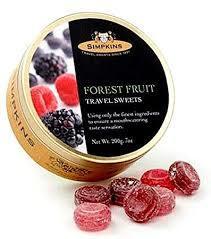 Simpkins Forest Fruit 200g 5011563624300