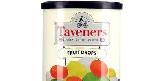 Taveners Fruit Drops 200g 5010412867509
