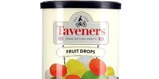 Taveners Fruit Drops 200g