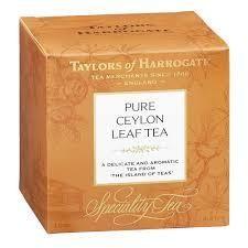 Taylor's Of Harrogate Pure Ceylon Leaf Tea 125g