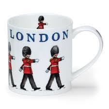Dunoon London Queen's Guards Fine China Mug