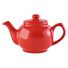 P&K 6 Cup Teapot Coral