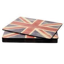Portmerion Placemats Union Jack 6pk 749151506152