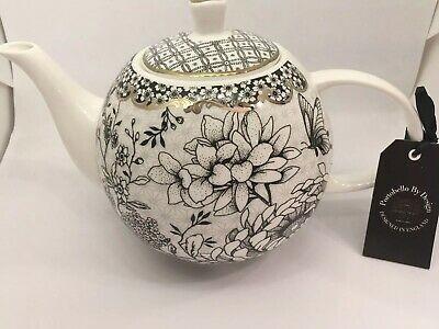 Portobello Teapot B&W