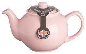 P&K 6 Cup Teapot Pastel Pink