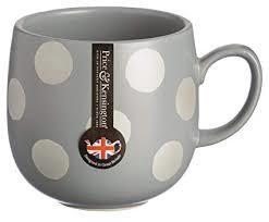 P&K Mug 14oz Silver Spot Grey
