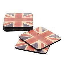 Portmerion Union Jack Coasters 6pk 749151506169