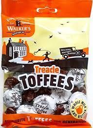 Walker's Treacle Toffees 150g 5010169035404