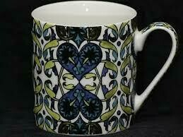 V & A Mug Arts And Crafts Tiles