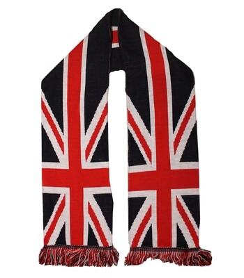 Union Jack Scarf Made In UK