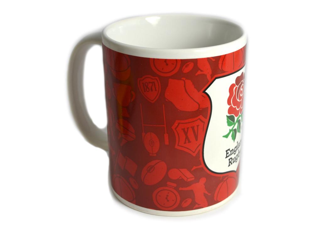 Official England Rugby Mug 5015860182242