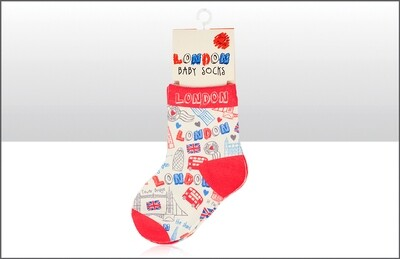 London Baby Socks