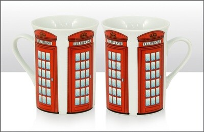 Lippy Mug Telephone Box