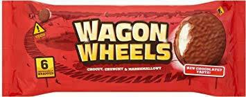 Burtons Wagon Wheels 6pk