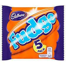 Cadbury Fudge 5 pk