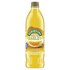 Robinson's Orange Real Fruit & Barley NAS