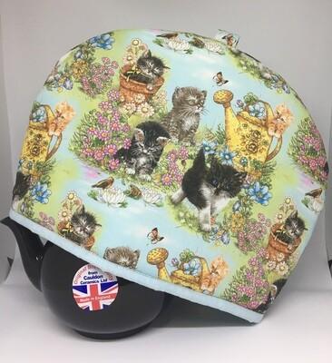 Tea Cosy Kittens & Flowers