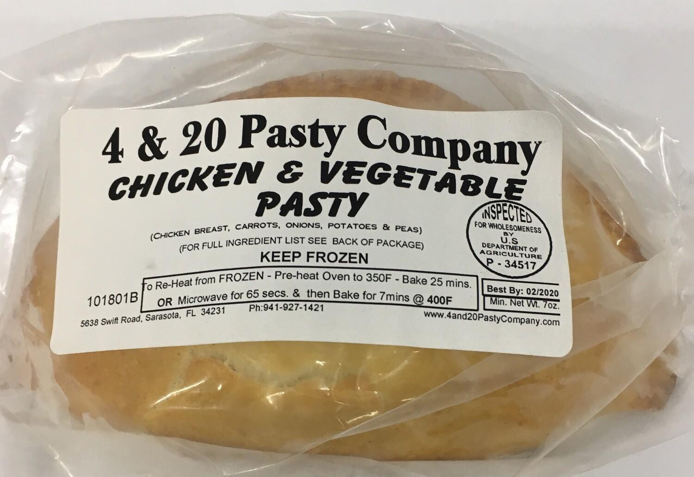 4 & 20  Chicken & Veg Pasty 7oz