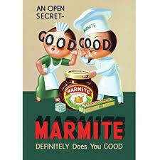 Marmite Metal Sign
