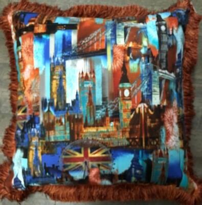 Cushion London Scene 20