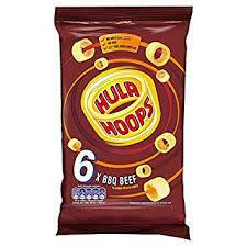 Hula Hoops BBQ Beef 6pk
