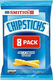 Smiths Chipsticks 8pk