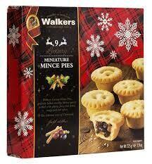 Walkers Miniature Mince Pies X 9