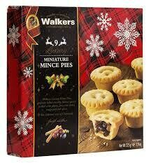 Walkers Miniature Mince Pies X 9