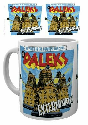 Dr Who Official Dalek Exterminate Mug