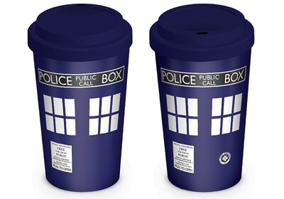 Dr Who Official Travel Mug