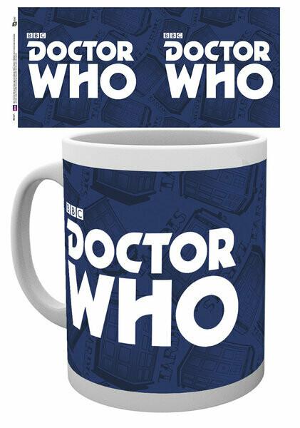 Dr Who Official Logo Mug