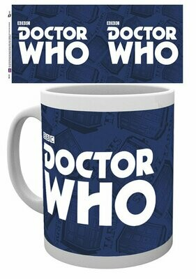 Dr Who Official Logo Mug