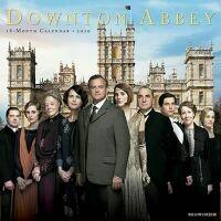 Downton Abbey 18 Month Calendar 2020