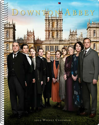 Downton Abbey 2020 Weekly Calendar