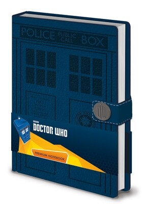Dr Who Official Notebook