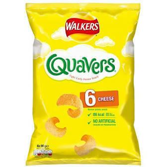 Quavers Multipack 6pk