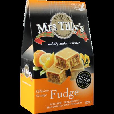 Mrs Tillys Orange Fudge 150g