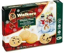 Walkers Assorted Shortbread Gluten Free 9.9oz