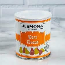 Jesmona Pear Drops Tin 250g